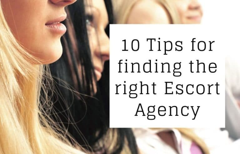 Escort Agency Advice