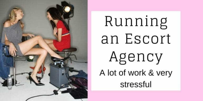 Running an escort agency