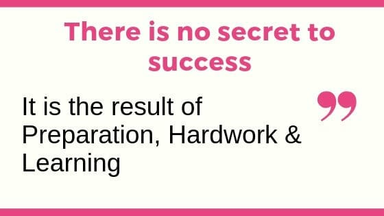 Escort brand success is due to Hardwork, Preparation & Learning