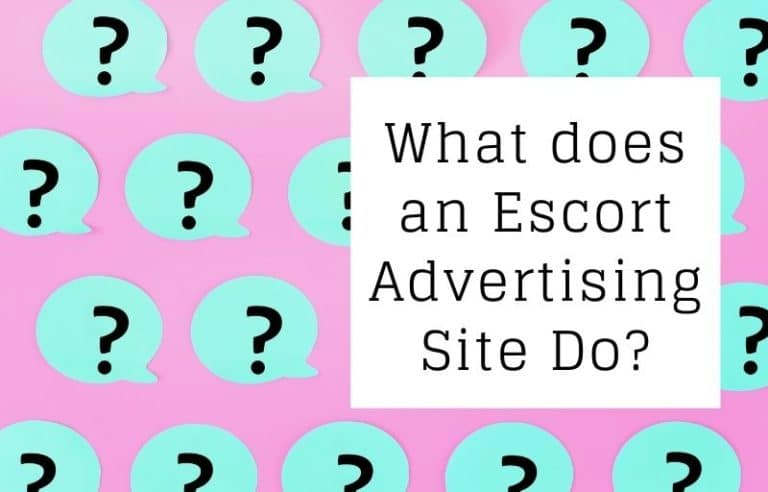 What does an Escort Ad site do?