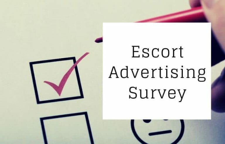Escort Advertising Survey