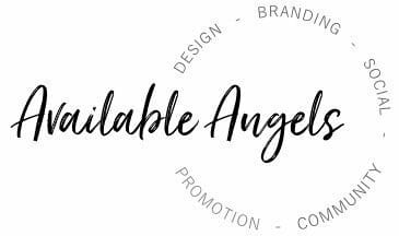 Available Angels Stamp Logo